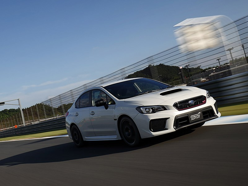 Subaru сделала самую мощную версию спортседана WRX STI Фото Авто Коломна