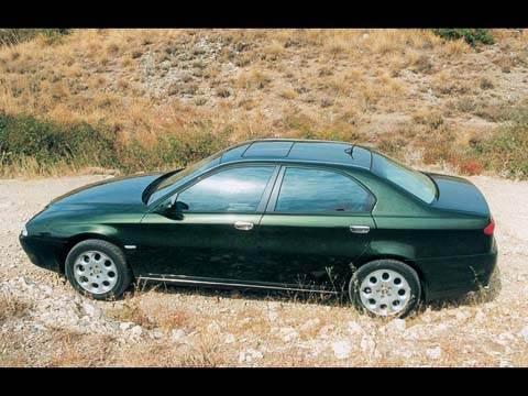 Alfa Romeo 166, Peugeot 607, Volvo S80