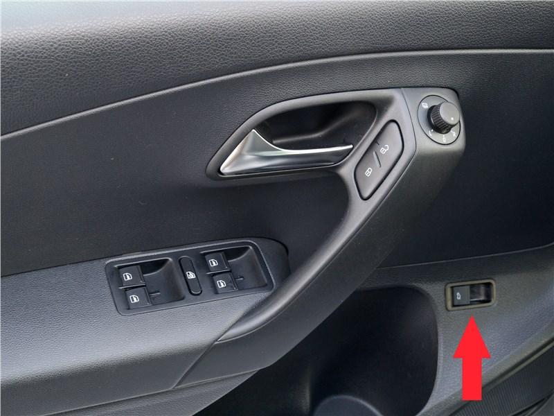 Volkswagen Polo GT 2016 кнопка дистанционного отпирания крышки багажника