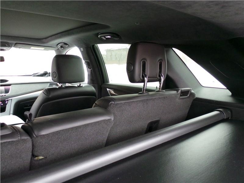 Cadillac XT5 2017 задний диван