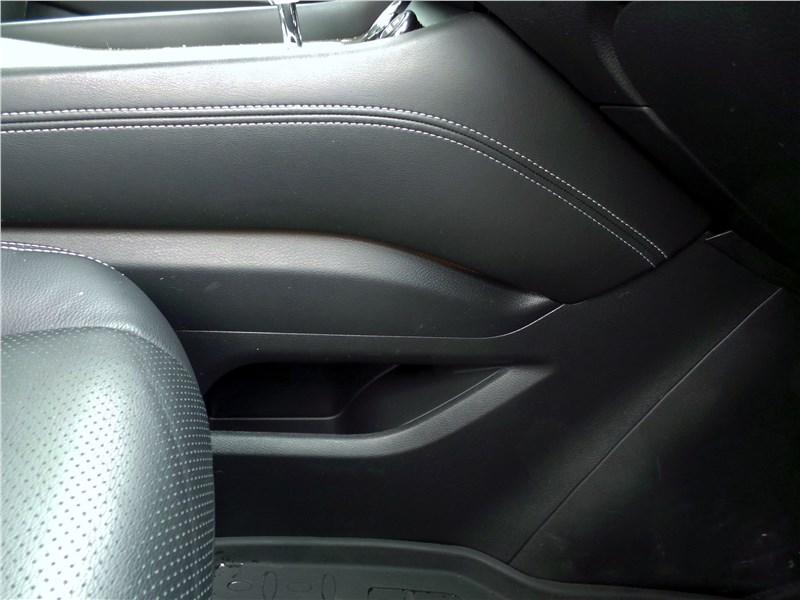 Nissan Murano 2016 углубление для мелких вещей