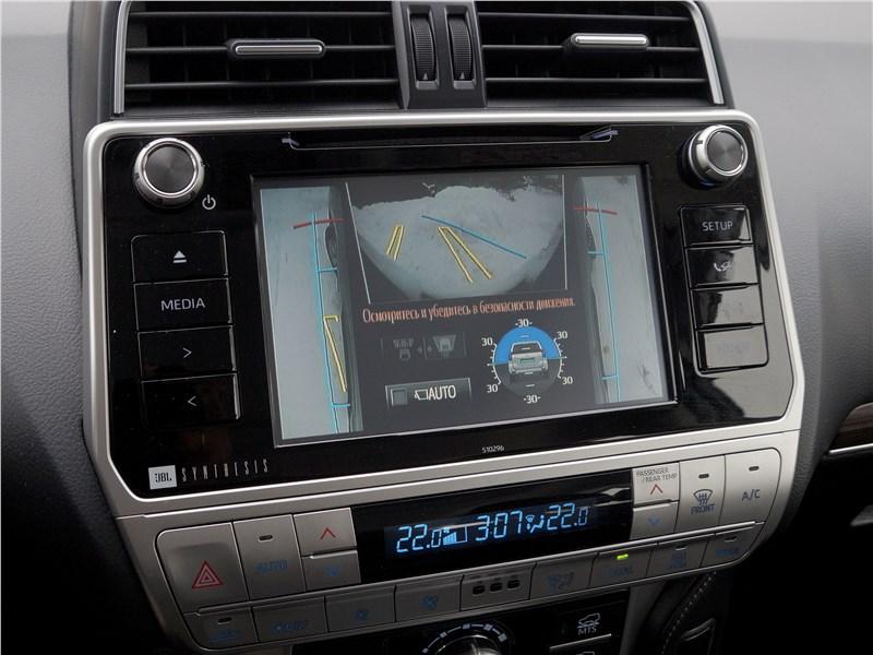 Toyota Land Cruiser Prado 2017 монитор