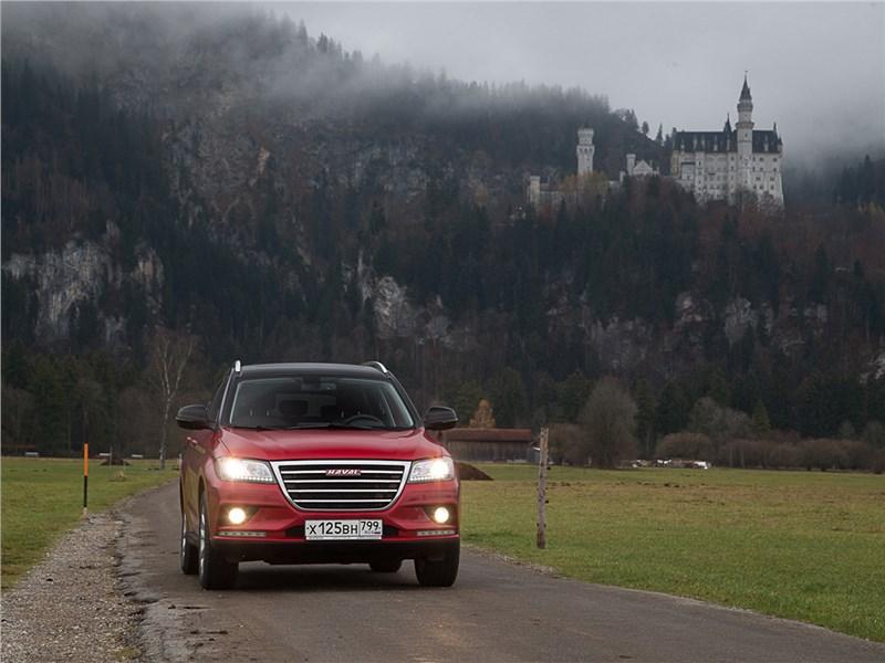 Haval H2 2014 Германия. Замок Нойшванштайн