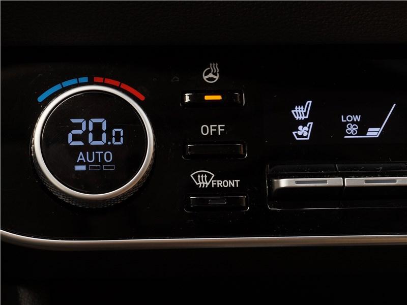Hyundai Sonata 2020 управление климатом