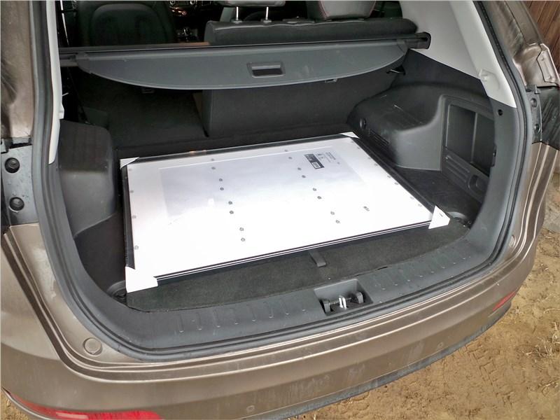 JAC S5 2014 багажное отделение
