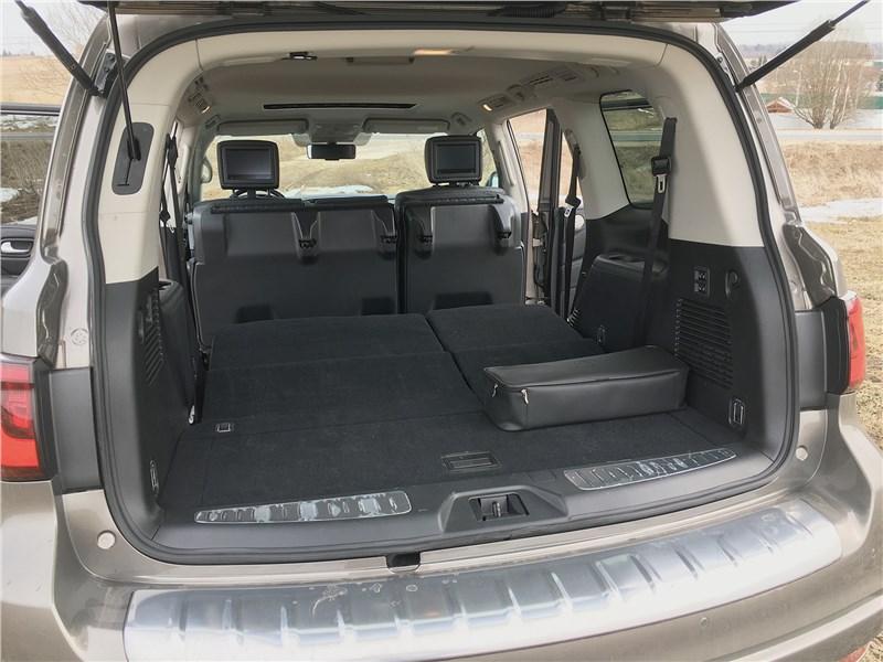 Infiniti QX80 (2021) багажное отделение