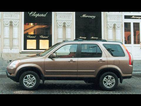 По дорогам и не только (Toyota RAV 4, Honda CR-V, Nissan X-Trail (02- 04 гг.))