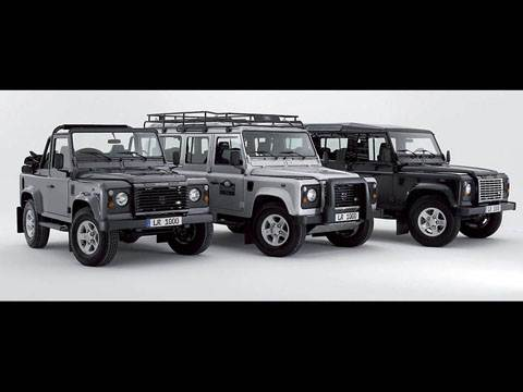 Land Rover Defender 90, Land Rover Defender 110