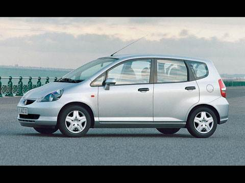 Nissan Micra, Toyota Yaris, Honda Jazz