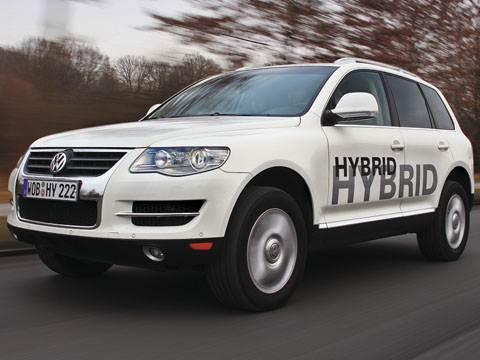 Сдвиг рабочей точки (Touareg TSI Hybrid)