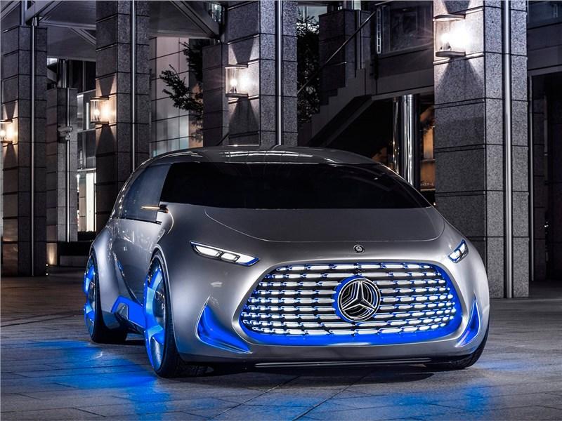 Mercedes-Benz Vision Tokyo Concept 2015 вид спереди