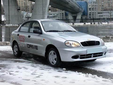 Volkswagen Pointer, Chevrolet Lanos, Chevrolet Spark, Daewoo Nexia, Daewoo Matiz, Chevrolet Aveo, KIA Picanto, Renault Logan