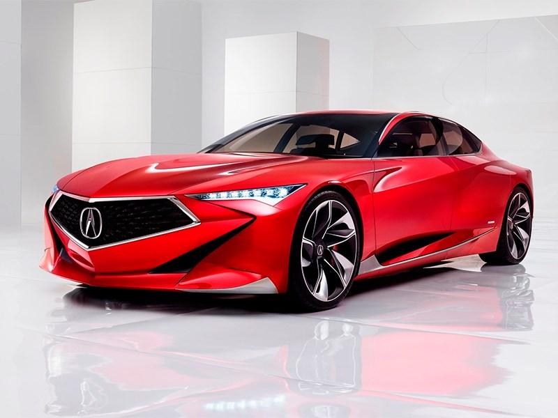 Acura показала новую дизайнерскую концепцию в Детройте