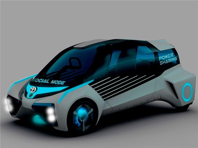 Toyota FCV Plus concept 2015 вид спереди