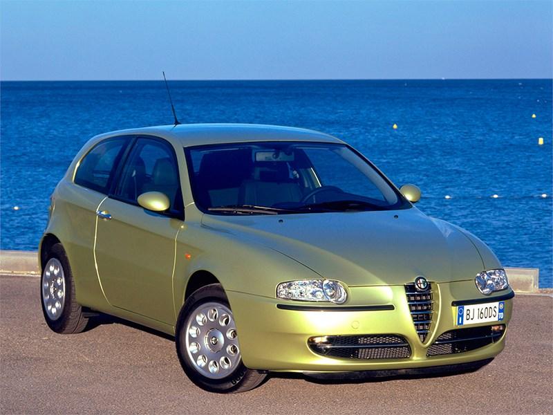 Итальянские скороходы (Alfa Romeo145-146, Alfa Romeo 147, Alfa Romeo 156, Alfa Romeo 166) 147 поколение I