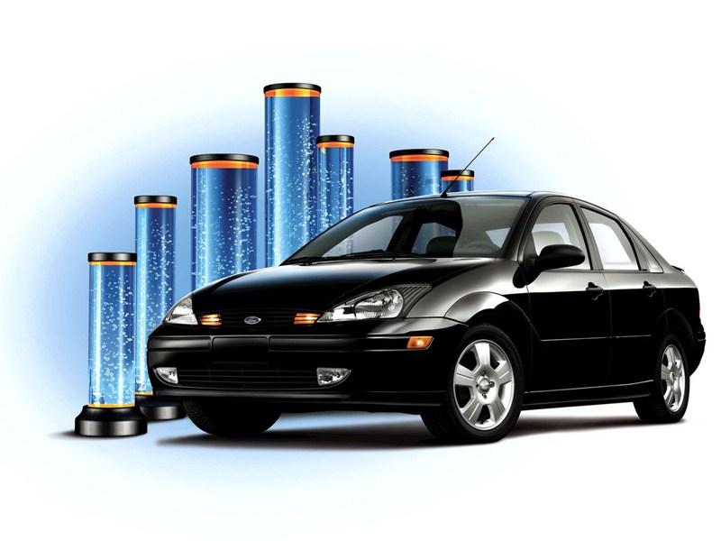 Ford Focus первого поколения в кузове седан