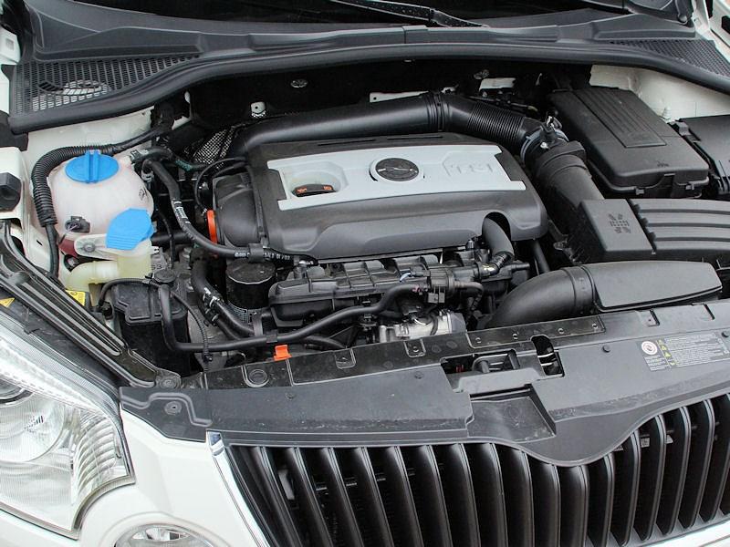 Skoda Yeti 2013 двигатель
