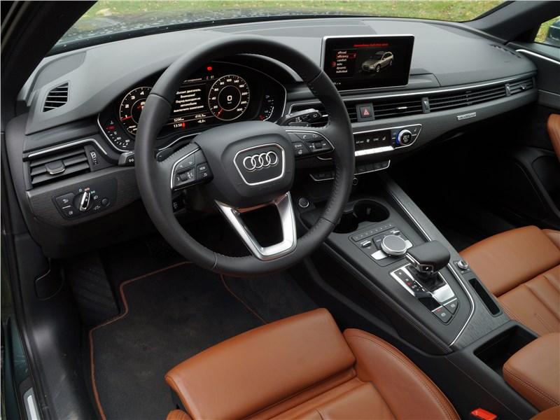 Audi A4 allroad quattro 2016 салон
