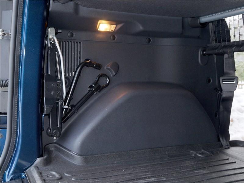 Renault Dokker 2018 багажное отделение