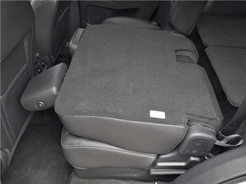 Ford Explorer 2018 задний диван