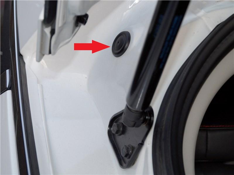 FAW Besturn X80 2018 дверь багажника