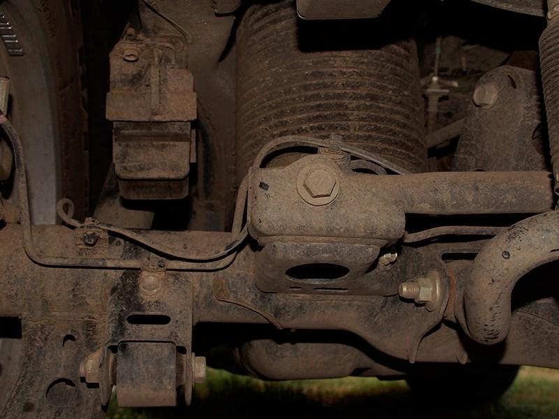 Lexus GX 460 2014 задняя пневмоподвеска фото 2