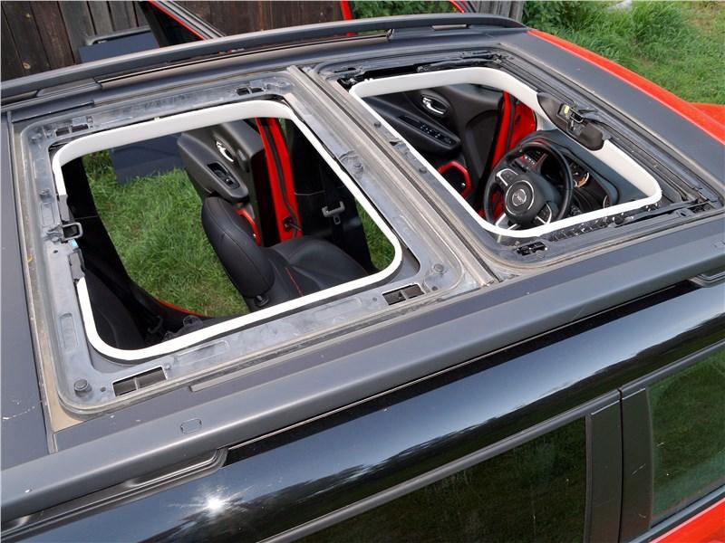 Jeep Renegade 2019 крыша