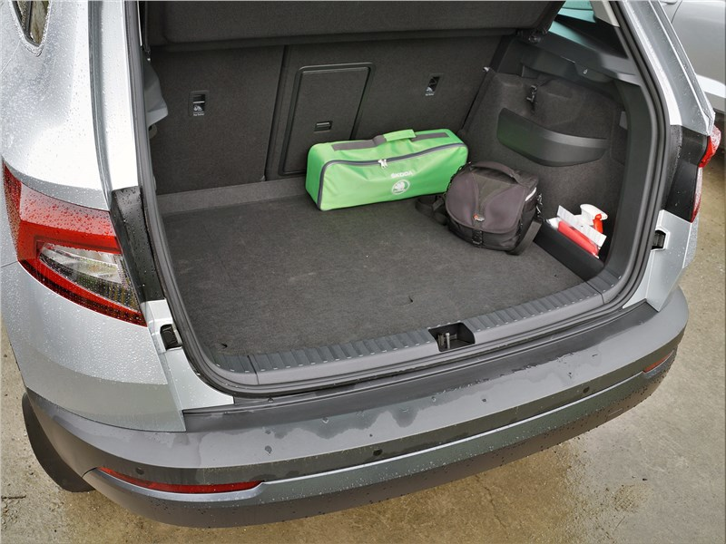 Skoda Karoq (2018) багажное отделение