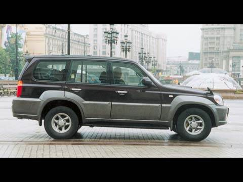 Hyundai Terracan, KIA Sorento, SsangYong Rexton