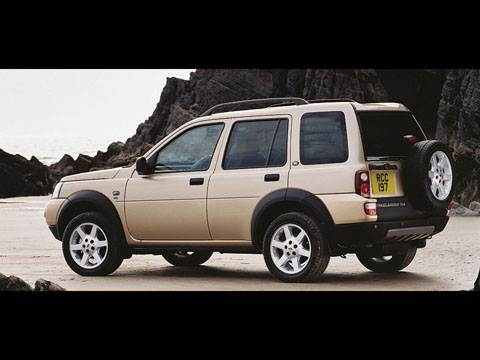Land Rover Freelander, Nissan X-Trail, Suzuki Grand Vitara