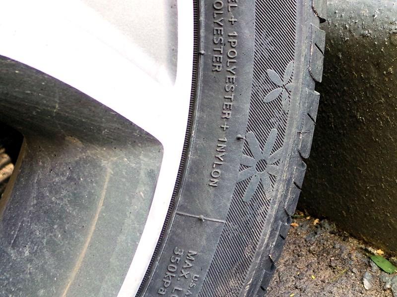 Kia Picanto 2015 колесо