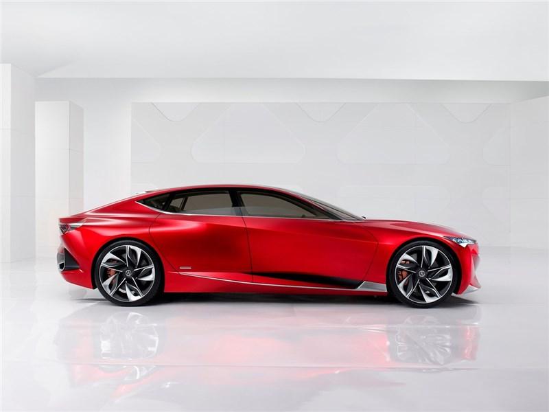 Acura Precision concept 2016 вид сбоку