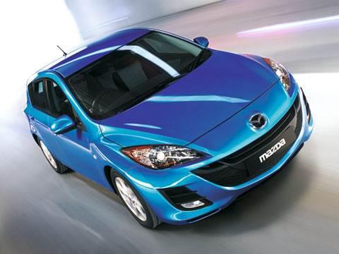 """Mazda"" cтавит на цифру ""3"" (Mazda 3 (2008))"