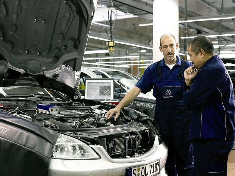 Слабый рубль может сыграть на руку Mercedes-Benz