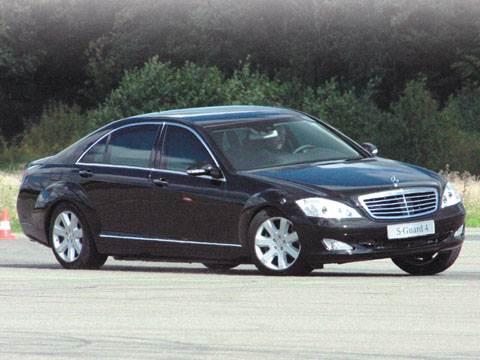 """""""Mercedes"""" S-класса получил надежную защиту (S600 Guard)"""