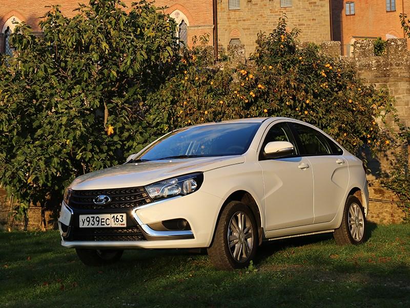 АвтоВАЗ нарастил объем выпуска модели Vesta