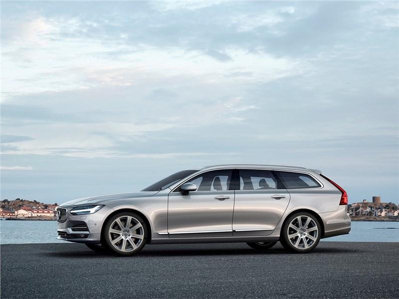 Volvo V90 Estate 2017 вид сбоку