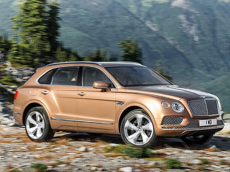 Bentley Bentayga получит двигатель V8