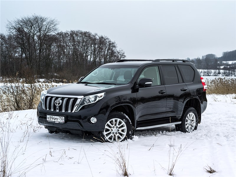 Toyota Land Cruiser Prado 2016 вид спереди