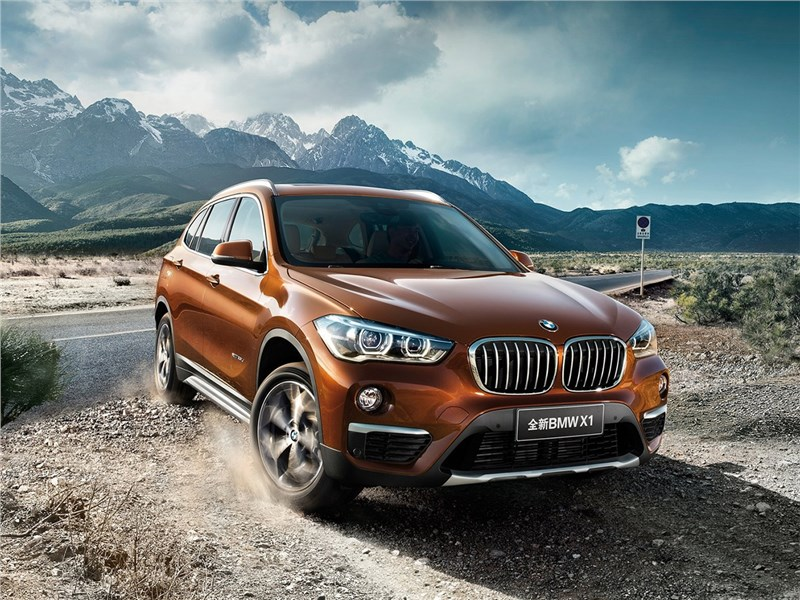 BMW X1 Long Wheelbase 2017 вид спереди