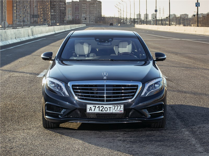 Mercedes-Benz S500 E Plug-In Hybrid 2015 вид спереди