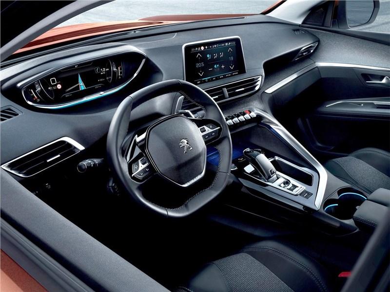 Peugeot 3008 2017 водительское место