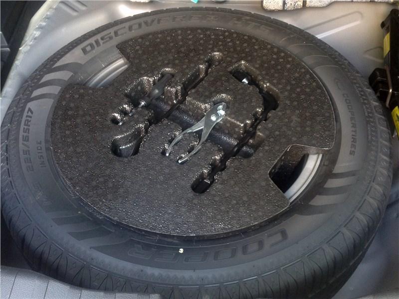 Haval H6 2015 запасное колесо