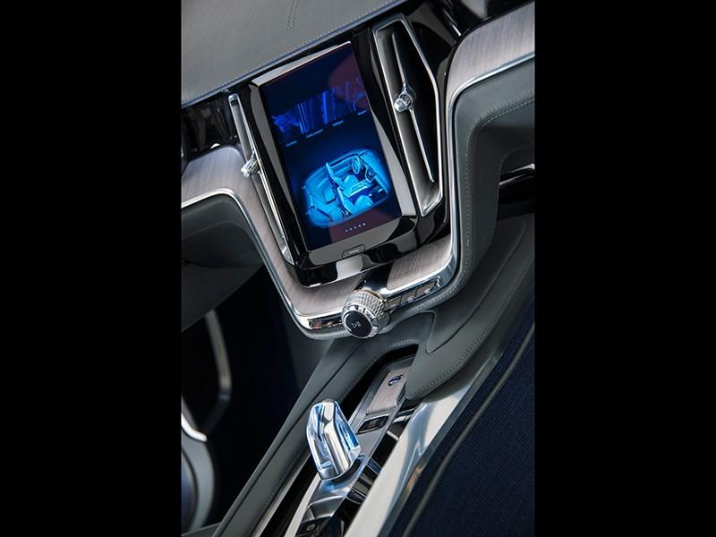 Volvo Coupe концепт 2013 интерьер фото 6