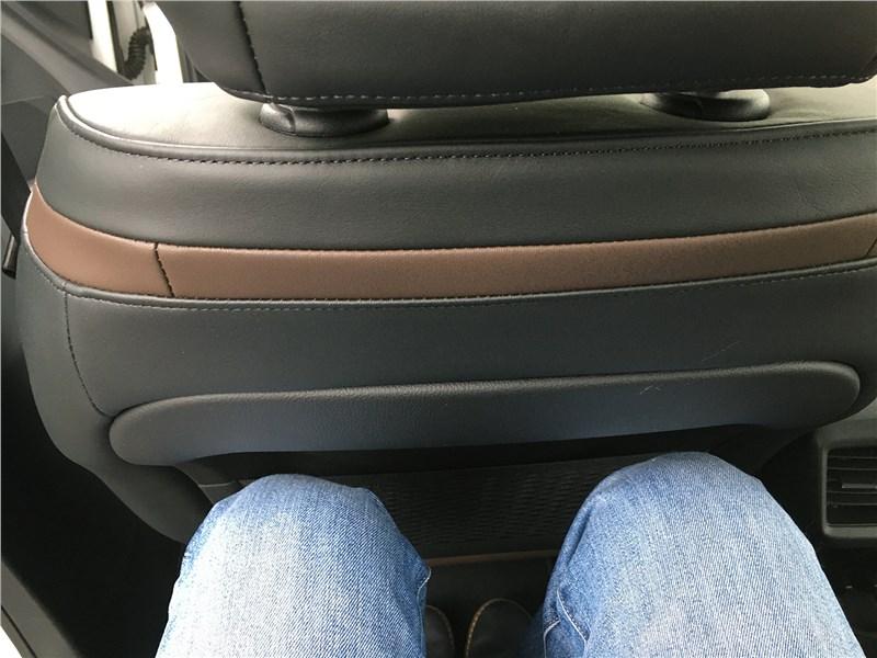 Citroen C5 Aircross 2020 задний диван