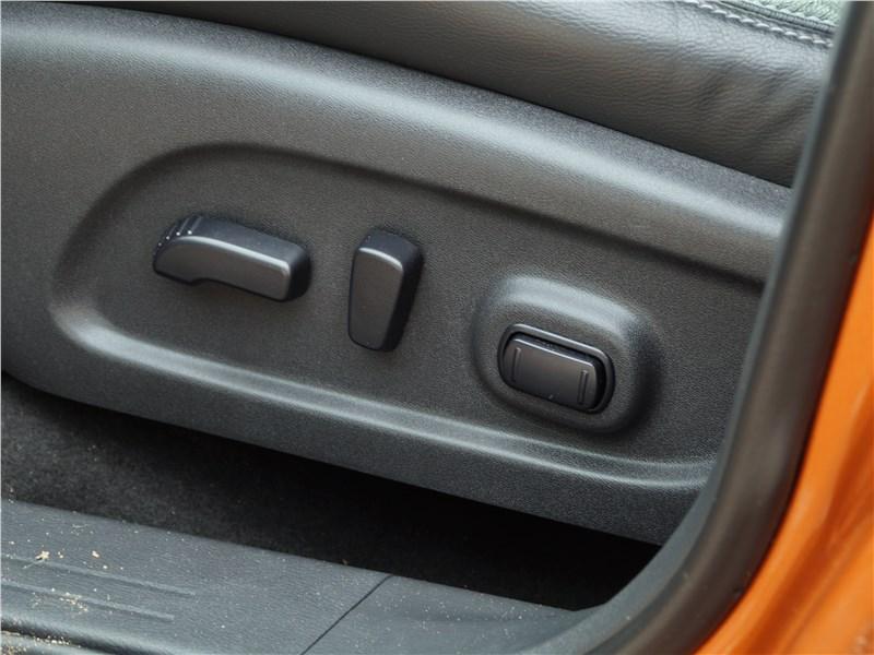 Nissan Murano 2016 водительское кресло