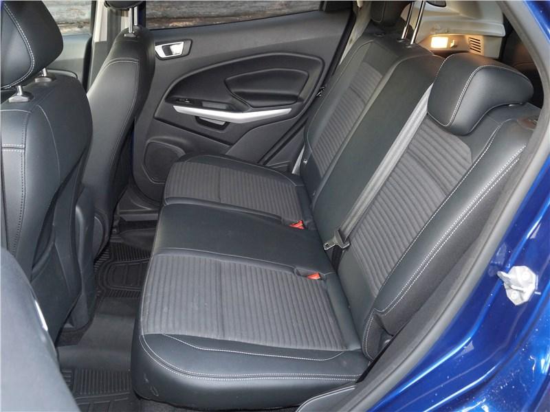 Ford EcoSport 2018 задний диван