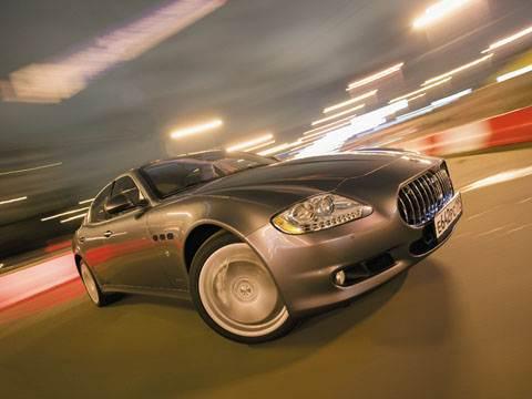 "Двойная игра ""Maserati Quattroporte S"", (Quattroporte S)"