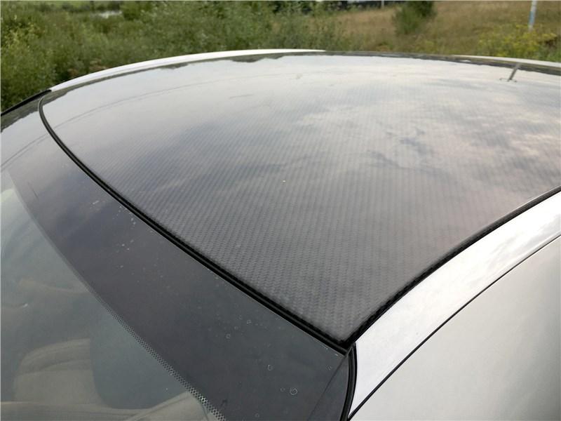 Lexus LC 500 (2021) крыша