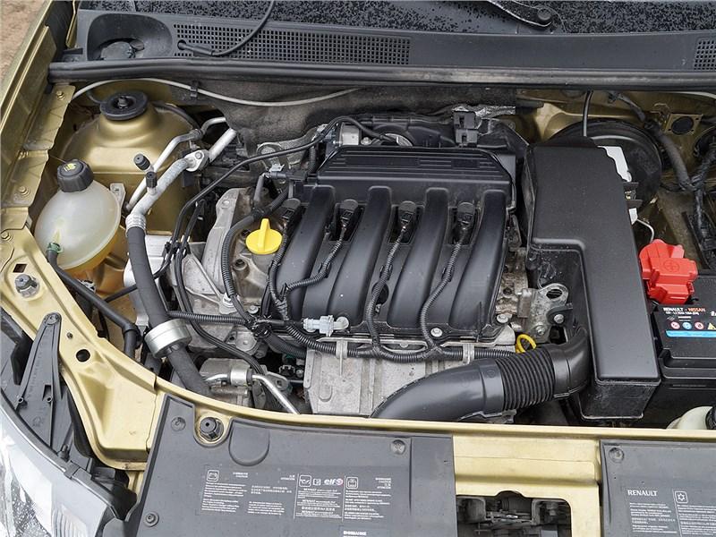 Renault Sandero Stepway 2015 двигатель